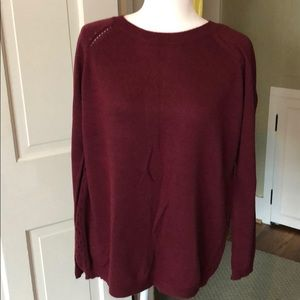 Pixley split-back Sweater Size L
